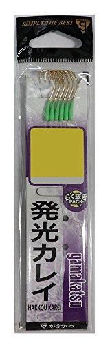 がまかつ(Gamakatsu) 糸付 発光カレイ(金) 13号-ハリス3. 11091-13-3-07