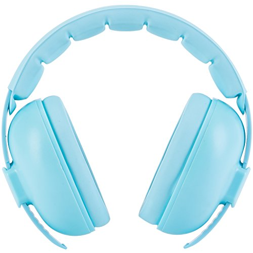 Snug Baby Earmuffs, Best Toddler & Infant Hearing Protection Ages 0-2+ Ear Protection for Babies (Blue)
