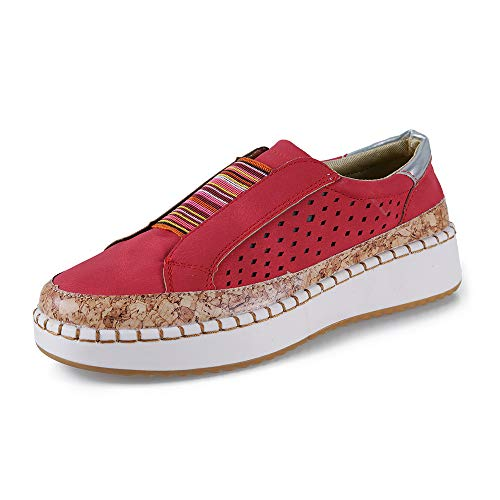 Mocasines Mujer Zapatos Alpargatas Plataforma Mujer