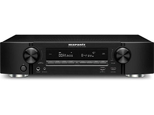 Marantz NR1606/N1B 7.2 Kanal 4K Netzwerk A/V-Receiver (WLAN, Bluetooth, Airplay, Spotify Connect, Internetradio, DTS-X, Dolby Atmos) schwarz
