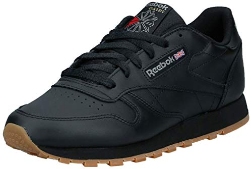 Reebok Reebok Damen Classic Leather Sneaker, Schwarz (Black/Gum), 40 EU