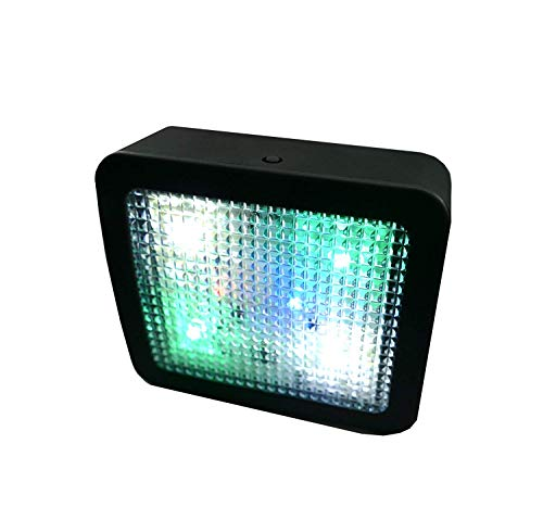 TV Simulator Imitator mit LED Sicherheitsleuchte 25x70x80mm