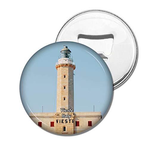 Weekino Italie Vieste Tower Bière Ouvre-Bouteille Aimant De Réfrigérateur Voyage Souvenir Autocollant de réfrigérateur Fort
