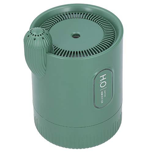 Wosune Difusor de Aroma USB, difusor de humidificador de 330 ml, Mini humidificador de Escritorio portátil, para Oficina, Sala de Yoga, Dormitorio, hogar(Green)