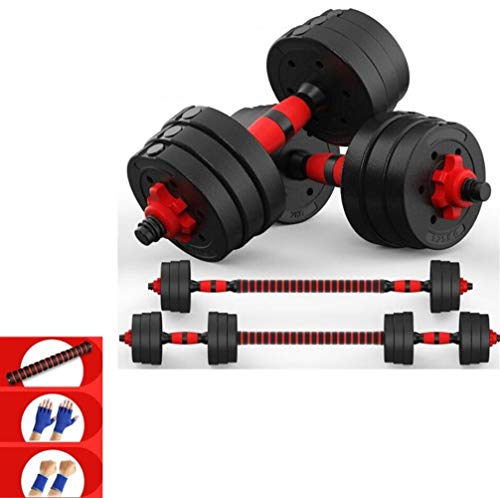 QAZXSW Dumbbells Weight Set , Dumbbells Free Weights, ,Rubber Coated cast Iron 1 Pair for Sale...