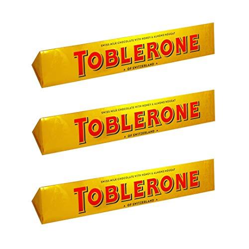 Toblerone Bar Milk 360g (Paquete de 3)