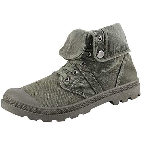 Men's Canvas Shoes-RQWEIN Korean...