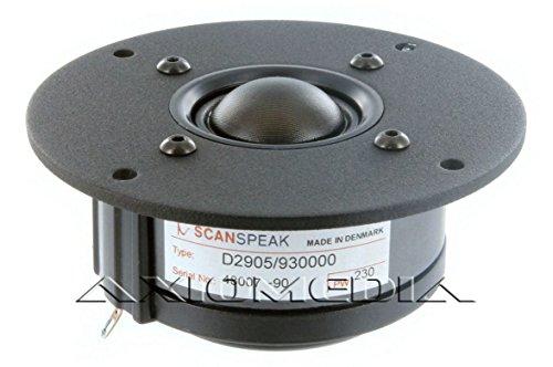 Scan Speak –Altavoz de agudos, de 25mm, clásico, de 6Ohm; modelo D2905/930000