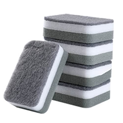 Monland Dishwasher Sponge Wipe Cleaning Cloth Household Kitchen Cleaning Double-Sided Sponge Block Dishwasher