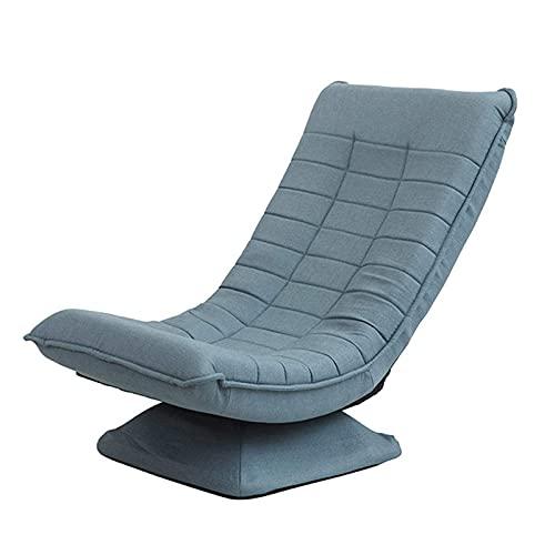 360 Grad drehbarer gefalteter fauler Sofastuhl, Klappposition des Spielstuhls Verstellbare Spielstühle für Kinder Bodensofastuhl Schlafsessel