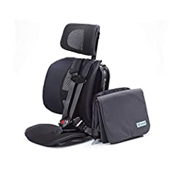 ANYWHERE YOU GO: The Pico travel car seat can be used every day, every way—on a plane or in the carpool lane. Whether you're ridesharing or road tripping, Pico's got you and your little ones covered. With Pico's slim design, you can fit 3 across in m...