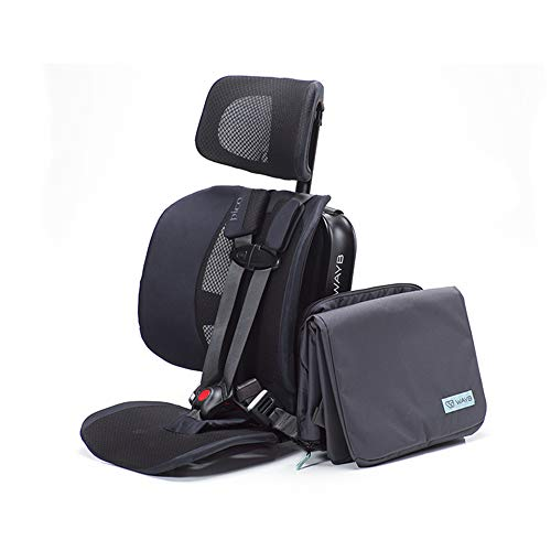 WAYB Pico Travel Car Seat and Travel Bag Bundle - Portable Travel Car Seat