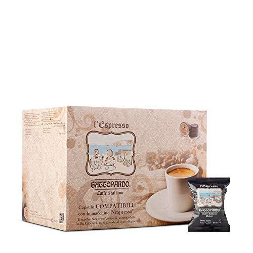 100 Capsule caffè GATTOPARDO DAKAR compatibili Nespresso