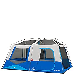 Fast Set Up Tent With Power Port