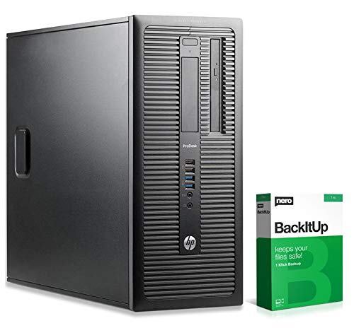 HP ProDesk 600 G1 MT | Office PC | Computer | Intel Pentium G3440 @ 3,3 GHz | 4GB RAM | 500GB HDD | DVD-Brenner | Windows 10 Home (Zertifiziert und Generalüberholt)