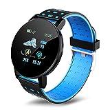 AEF Smart Watch Men Women Fitness Tracker, 1.3-Inch Color