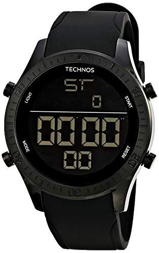 Relógio Technos, Pulseira de Silicone, Masculino, Grafite