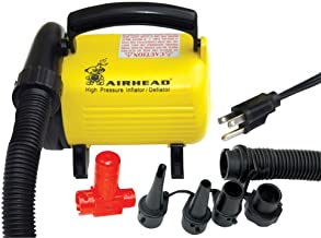 Airhead Hi Pressure Air Pump, 120v, Yellow/Black