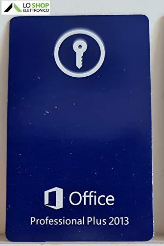 Office 2013 Professional Plus Key-Card - Licenza a Vita - Attivazione Online - Fatturabile
