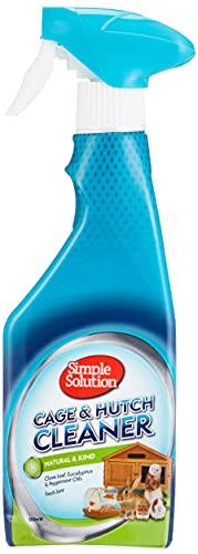 Simple Solution Jaula & Hutch Natural Antibacteriano Limpiador – 500 ml