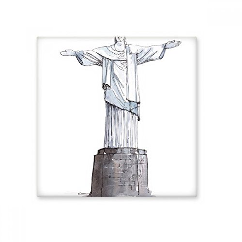 Cristo el Redentor en Brasil cerámica crema decoración de azulejos baño cocina azulejos de pared azulejos de cerámica