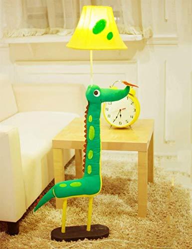 L-YINGZON Cartoon sol Tissu Lumières Art créatif Belle décoration animale Lumière Appliquer Chambre d'enfant Chambre Plancher lumières for Salon Ampoule inclus, commutateur de commande à distance L'éc