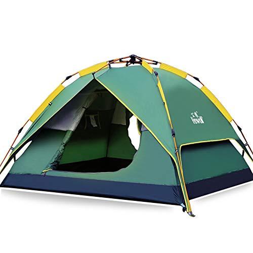 HEWOLF Zelt 1-2 Person Pop Up Zelt Campingzelt Familienzelt 2000-3000mm Doppelschichtiges wasserdicht Automatisches Zelt