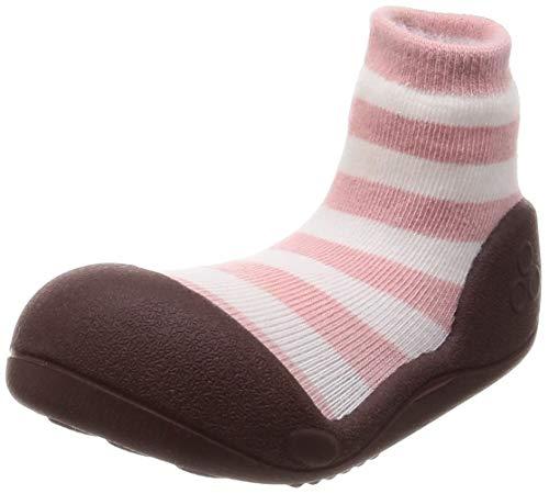 Attipas , Chaussures premiers pas pour bébé (fille) Rose Rosa - Rose - Rosa, Talla S- Euro 19/ 96- 108 mm- EU