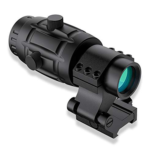 Beileshi 4X Optics Sight Magnifier with...