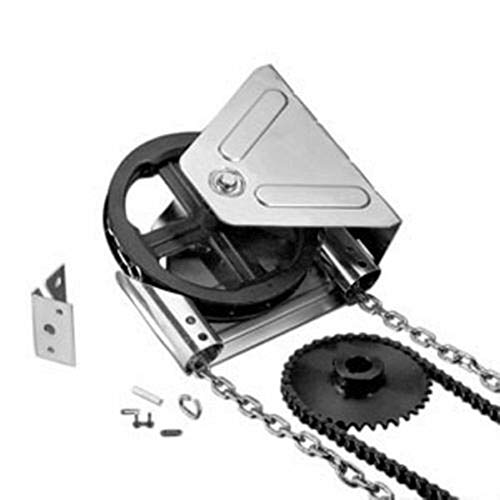 Amazing Deal Richman789 Garage Door Chain Hoist Gear Reduced 2000R Wall Mount New 1 inches Shaft