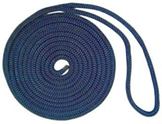 US Ropes Nylon Double Braided Dock Line 1/2 x 20' Navy