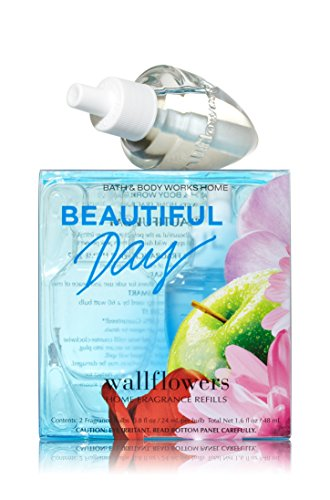Bath and Body Works Wallflowers 2-Pack Refills, Beautiful Day, 1.6 fl Ounce...