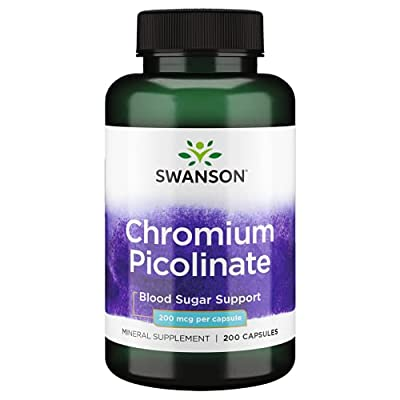 Swanson Chromium Picolinate 200 mcg 200 Caps