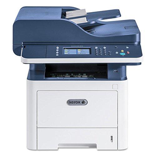 Xerox WorkCentre 3345/DNI Wireless Monochrome All-in-One Laser Printer, 42ppm, 1200x1200 dpi, 300 Sheet Standard Capacity, 50 Sheet Reversing Automatic Document Feeder, WiFi - Print, Copy, Scan, Fax