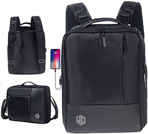 Laptop Backpack By Widely Quality Convertible Backpack and Briefcase for Men Waterproof Travel product image