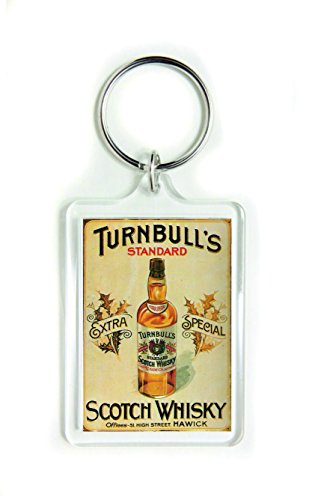 Turnbull's standaard extra speciale scotch whisky acryl sleutelhanger sleutelhanger