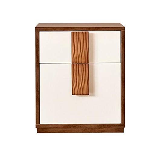 Jia He Comodino Cassettiera-Comodino Comodino Letto Doppio cassetto Modern Simplicity Storage Bedside Cabinet Bedroom Furniture