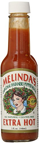 Melinda#039s Original Habanero Pepper Sauce Extra Hot 5 fl oz