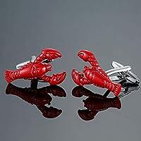 DY 真鍮ミニ動物カワセミ亀のカフスボタンファッションメンズシャツカフス (Metal color : 8)