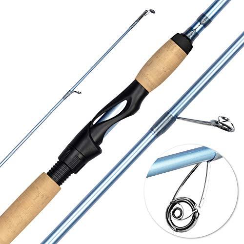 """KastKing Estuary Inshore Saltwater Fishing Rods, Spinning Rod 7'0"""" - Medium Heavy - Fast"""