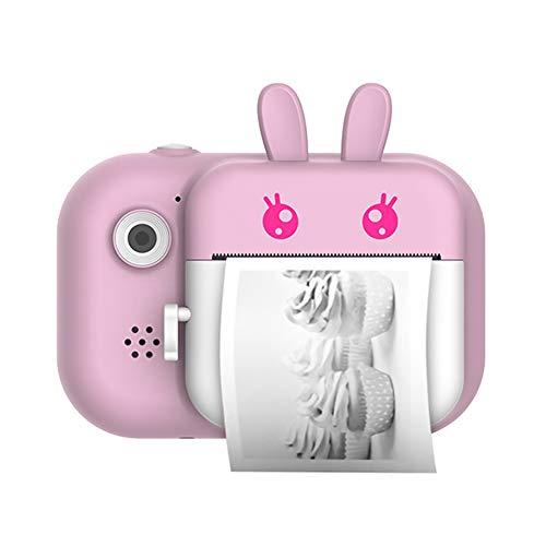 Cámara Infantil instantánea-Digital, Impresión 2000 Fotos, 1080P Selfie Video Cámara, Cámara Digital para Niños, Regalos Ideales para Niños Niñas de 3-10 Años, con Tarjeta 32 GB,A