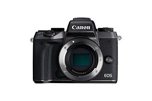 Canon EOS M5 Systemkamera (24,2 MP, APS-CCMOS-Sensor, WiFi, NFC, Full-HD) schwarz