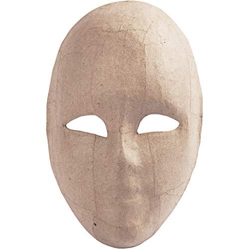 Creativ 16 cm Papier Mache Full Face Masker