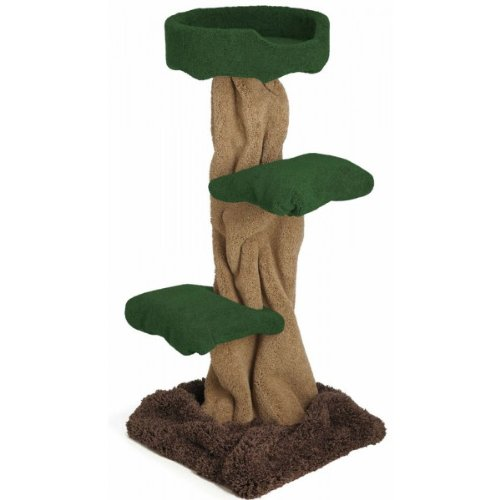 Carpeted Cat Tree That Looks Like A Tree