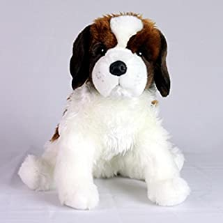 Saint Bernard Dog- Stuffed Animal Therapy for People with Memory Care from Aging and Caregivers