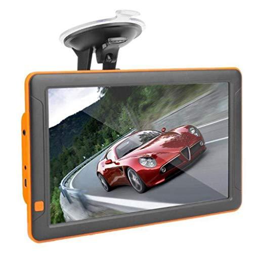 Navigatore Satellitare Auto 9 pollici sistema di navigazione GPS, 8GB Auto Autocarro Navigatore Satellitare, CAP Cerca e Speed Alert telecamera, Indicatore di corsia, Mappa gratuito a vita aggiornam