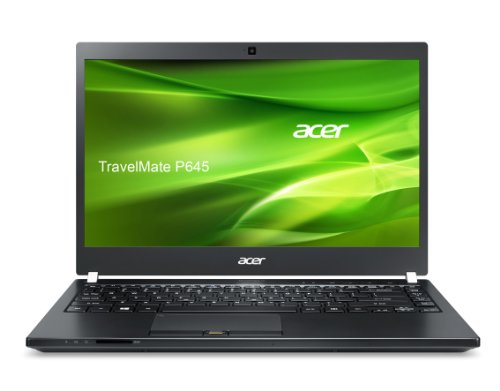 Acer TravelMate P645-M-54208G62tkk 35,6 cm (14 Zoll) Notebook (Intel Core i5 4200U, 1,6GHz, 8GB RAM, 500 GB HDD + 120GB SSD, Intel HD 4400, 'Win 7/8' Pro) schwarz