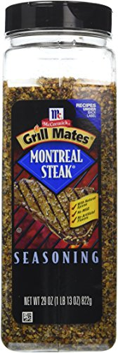 McCormick Montreal Steak Seasoning, 29-Ounce Units (Pack of 2)
