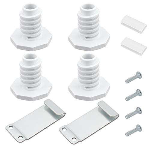 Blutoget W10869845 Dryer Stack Kit - Compatible with Kenmore Whirlpool Amana Standard and Long Vent Dryer