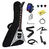 Rock Metal Kit pour Guitare électrique avec Chiffon de Polissage